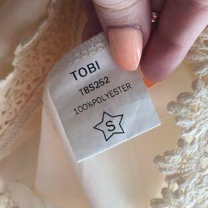 Tobi Dresses - Cream Long Sleeve Dress